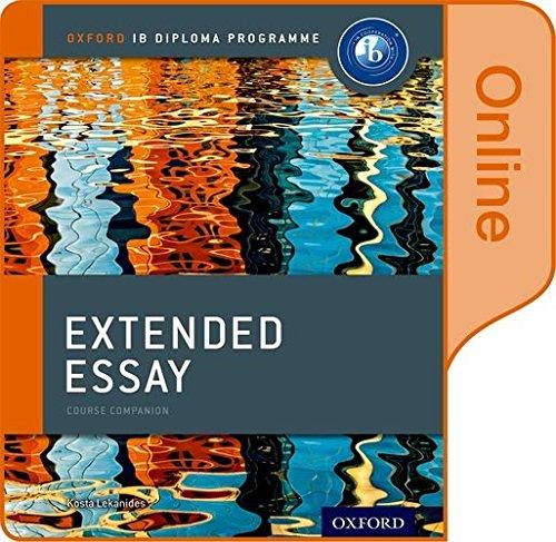 IB extended essay?