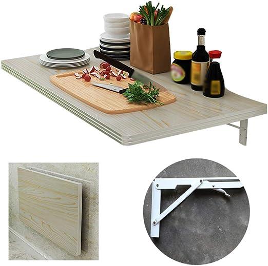 Elegante mesa de comedor plegable, consola de cocina doméstica de ...