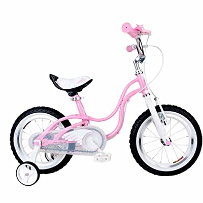 Vélo pour enfants, poussette de 14 pouces 3-6 ans Poussette pour fille  Avant et après l anneau du couteau Sans siège arrière f29d4198349d