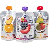SmashPack - Fruit & Protein Sports Nutrition Performance Pack (5oz pack- 12 packs) {Variety Pack}