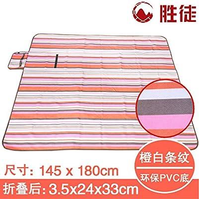 XZ picnic al aire libre playa acolchada impermeable mat mat ...