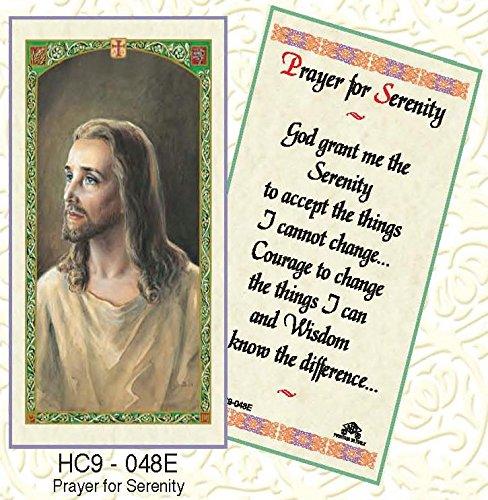 Serenity Prayer Laminated Prayer Cards - Pack of 25 - HC9-048E