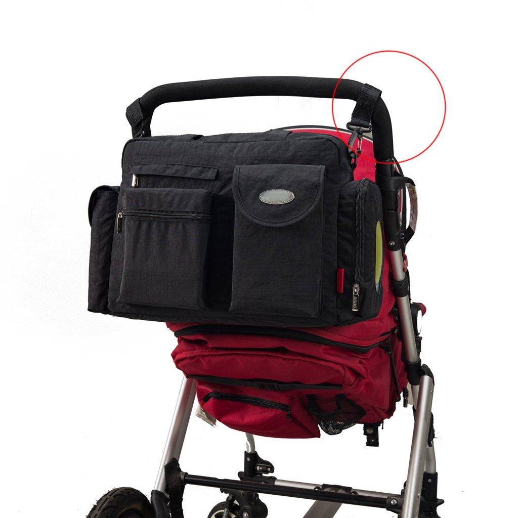 sanhou para cambio de pañales bolsas para pañales bolsa 8pcs multifuncional bolsos: Amazon.es: Bebé