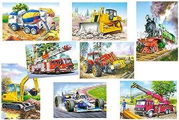 alles-meine.de GmbH 7 Stück: Mini Puzzle / Minipuzzle - jeweils 24 ...