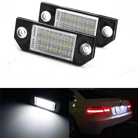 GZCRDZ - 2 bombillas LED para matrícula de coche, sin errores, paraMK2 y MK1