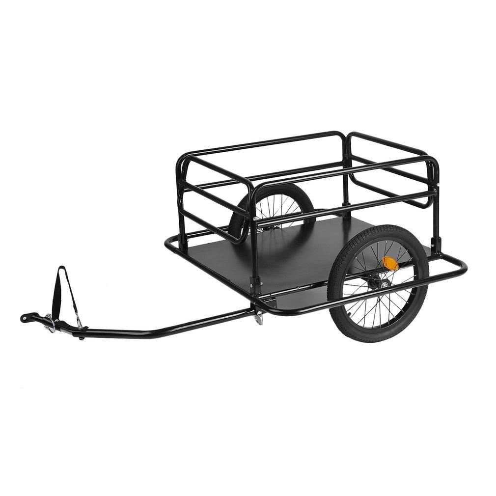 Belovedkai Foldable Bike Trailer Cargo Utility Luggage Bicycle Trailer