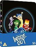 Inside Out 2015 3D Bluray Steelbook