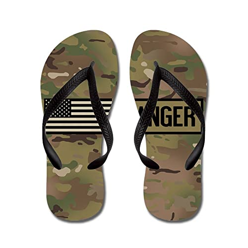 fd758e186fbb CafePress - U.S. Army  Ranger (Camo) - Flip Flops