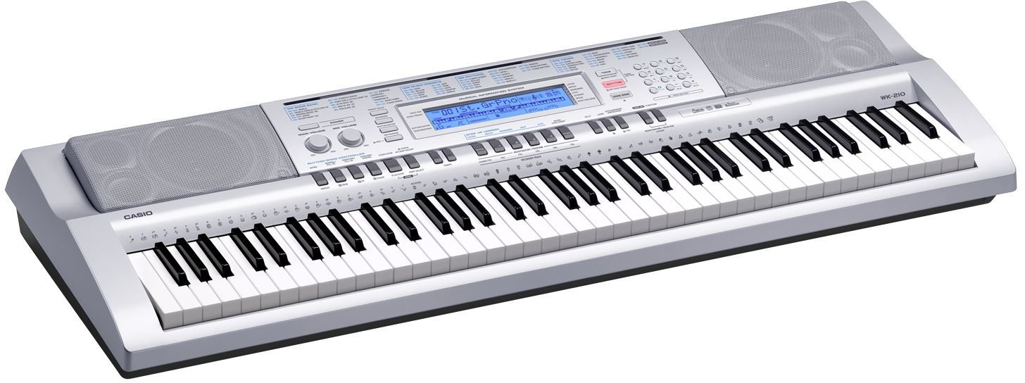 d5289a72c5b Amazon.com: Casio WK-210 76-Key Personal Keyboard with 570 Tones: Musical  Instruments