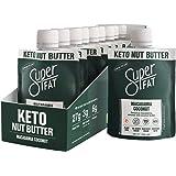 SuperFat Nut Butter Keto Snacks - Macadamia Almond Nut Butter Fat Bomb Paleo Snack For Energy, Metabolism & Brain…