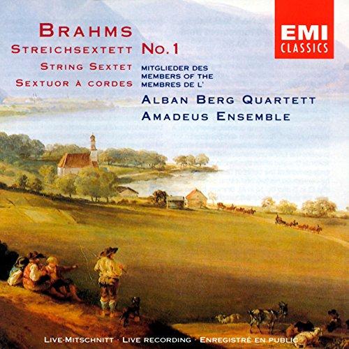 Brahms: Sextet No. 1 & Scherzo excerpt (from Sextet No. 2), Opp. 18, 36
