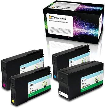 OCProducts Recambio de Cartucho de Tinta HP 952 para impresoras HP ...