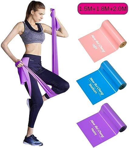 Rose Élastique Résistance Bande Boucle Extensible Gym Sport Yoga Fitness Vente