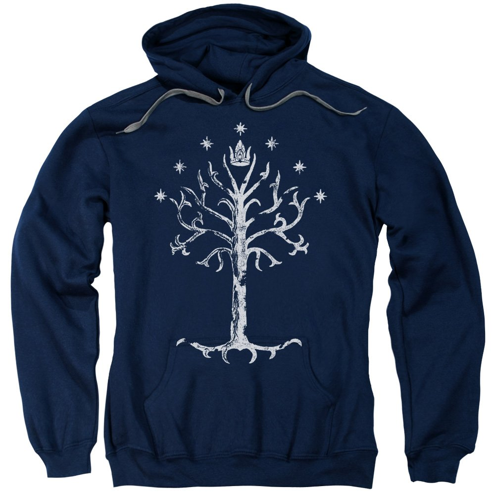 2Bhip The Lord of The Rings Movie Tree of Gondor Adult Pull-Over Hoodie Trevco