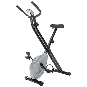 Skandika Foldaway X de 1000 Lite Fitness Bicicleta Estática X de Bike F de Bike plegable