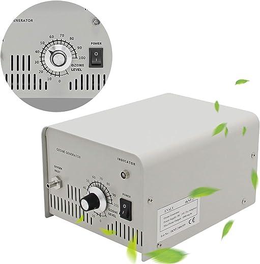 CGOLDENWALL Generador de Ozono 1000mg/h Purificador de Agua Ozono para Laboratorio Esterilizador de Agua Salida del Ozono Ajustable de 0-100%
