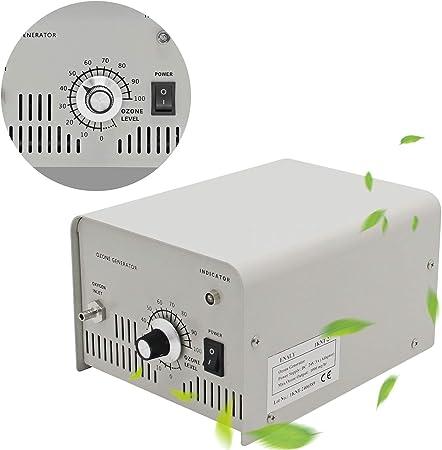 CGOLDENWALL Generador de Ozono 1000mg/h Purificador de Agua Ozono para Laboratorio Esterilizador de Agua Salida del ...