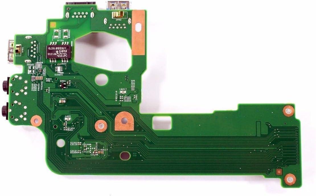 NHXRJ - Dell Inspiron M511R (M5110) Audio / USB IO Circuit Board- NHXRJ