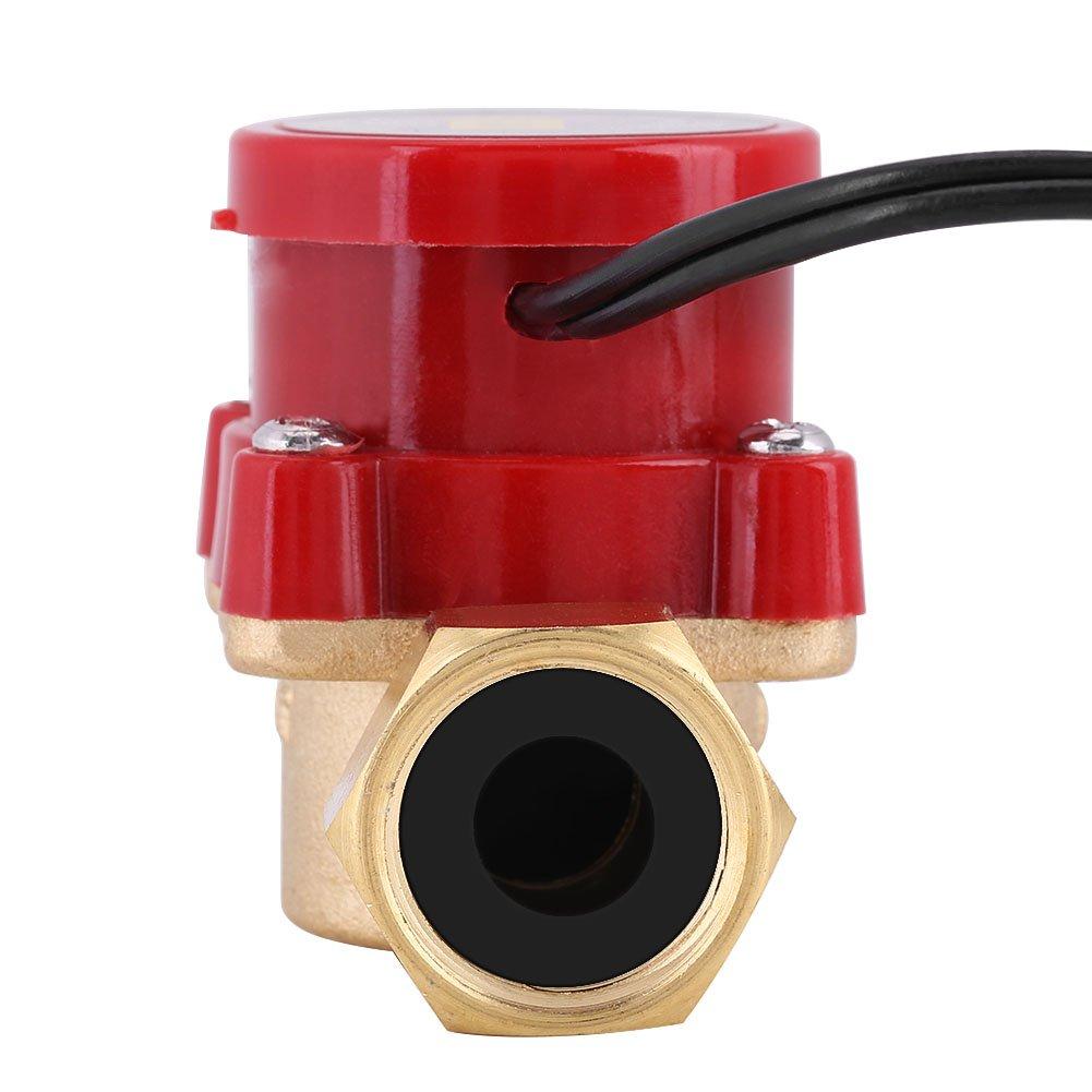 1 St/ück Magnetic Wate Flow Sensor Schalter Rohr Boosting Pump Maschine Automatische Elektronische Schaltersteuerung f/ür Dusche Niedriger Wasserdruck Solar Heizung Wasserkreislauf G1 2 Gewinde