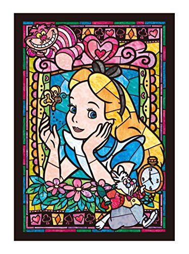 Stained Art Disney 266 piece Alice stained glass DSG-266-750 tightly (japan import)