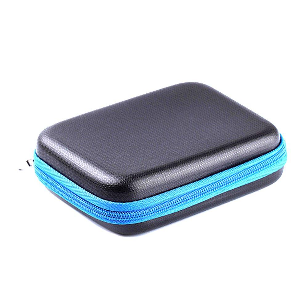 LuckyNV Travel Carrying Case Box for Polaroid ZIP Mobile Printer/HP Sprocket Portable Photo Printer/Lifeprint Photo and Video Printer (Blue)