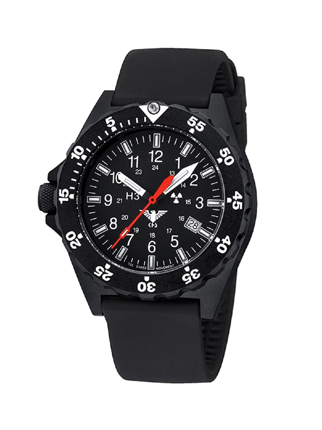 KHS Shooter KHS.SH.S Silikonband inkl. Watch-Glass-Protection Schutzfolie