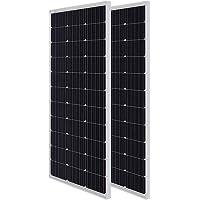 $103 » Renogy Solar Panel 2pcs 100 Watt 12 Volt Monocrystalline, 2-Pack Compact Design