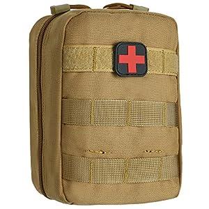 ArcEnCiel Tactical MOLLE EMT Medical First Aid IFAK Blowout Utility Pouch
