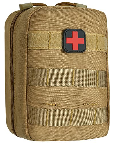 ArcEnCiel Tactical MOLLE EMT Medical First Aid IFAK Blowout Utility Pouch (Out Pouch)