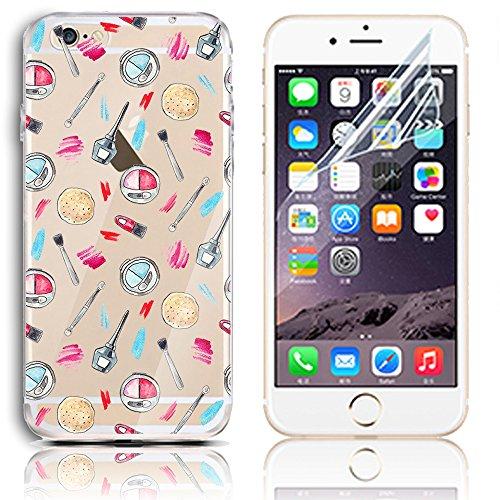 Transparente TPU Funda para iPhone 5s se 5 Silicona Gel Sunroyal® Resistente a los Arañazos en su Parte Trasera Flexible Bumper Case Cover [Anti-Gota] [Choque Absorción] Ultra Fina Protectora Alta Cal A-32