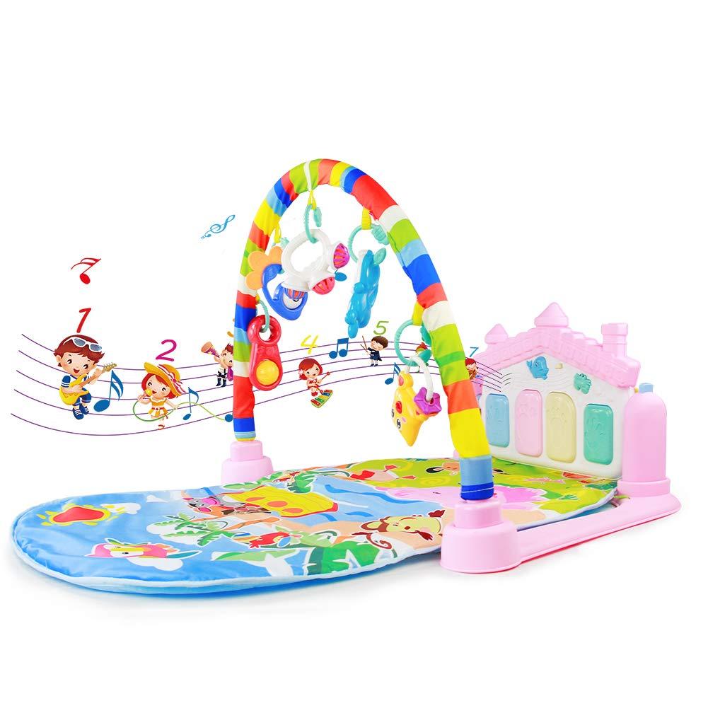 Tapete De Juego Gimnasio Piano Pataditas Alfombra Actividades Para Bebes Manta De Juego Beb/é