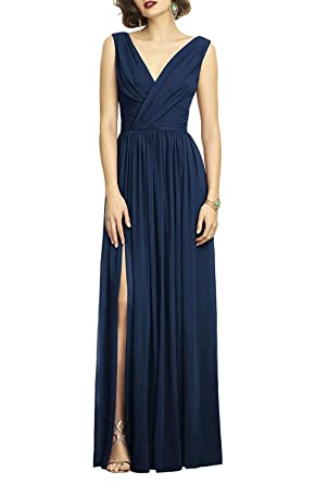 Chiffon A Line Bridesmaid Dress