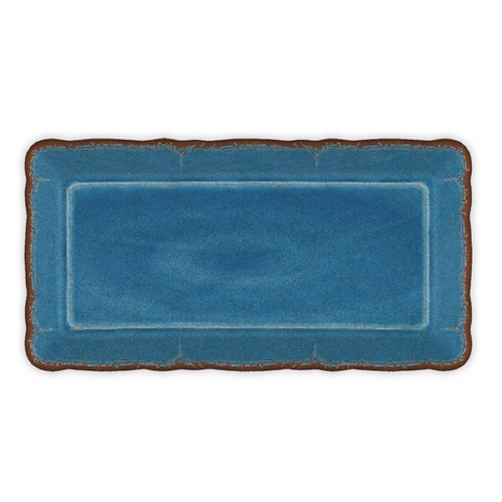 Le Cadeaux 297ATQR Antiqua Red Biscuit Tray 10.6 inches
