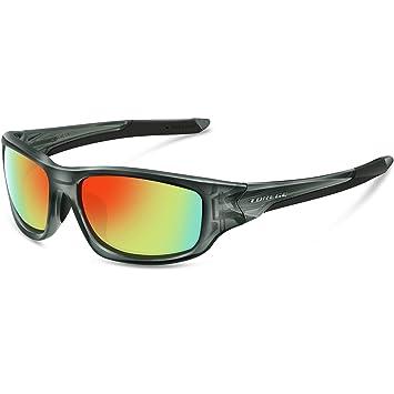 torege polarizadas gafas de deporte para hombres mujeres ciclismo running pesca Golf TR90 Unbreakable marco TR011