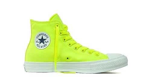 Converse Chuck Taylor All Star II Neon, Zapatillas de Baloncesto Unisex Adulto, Verde (Volt Green/White), 45 EU: Amazon.es: Zapatos y complementos