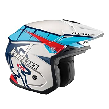 HEBO Trial Zone 5 T-One Casco, Azul, Talla M