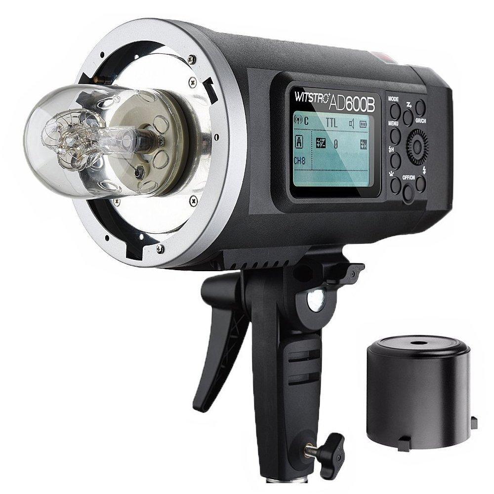 Fomito Godox Wistro ad600b TTL All - in - One強力なアウトドアフラッシュwith 2.4 G X System build-in 8700 mAhリチウムイオン電池for DSLRカメラ(ad600b)   B07BTV4N3Y