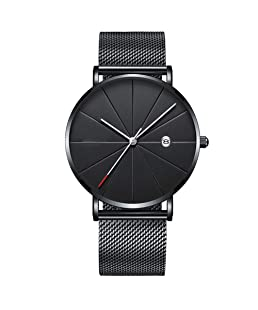 Bingirl Men Stylish High-end Business Ultra-Thin Wristwatch Casual Quartz Watch