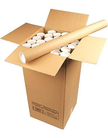 Ambassador - Tubo para envío postal de documentos (cartón, 50 x 890 mm,