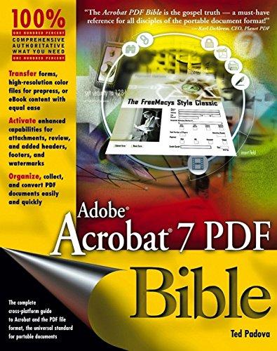 Adobe Acrobat 7 PDF Bible -
