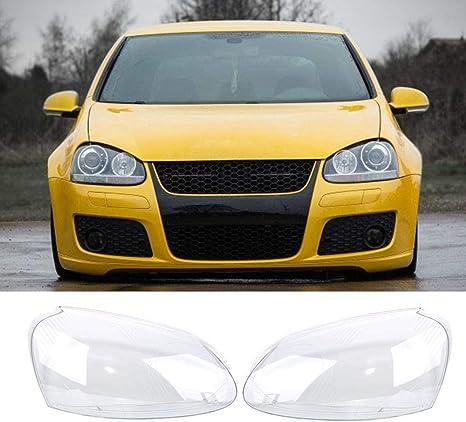 For VW Volkswagen Golf5 MK5 2005-2009 Front Lens Cover Kit Headlight Left Right