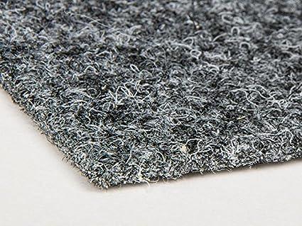 Anthrazit 2,00m x 12,00m Antistatische Zertifizierte Auslegeware Teppichboden Schalld/ämmender Nadel-Vlies Bodenbelag Nadelfilz Meterware TURBO B1