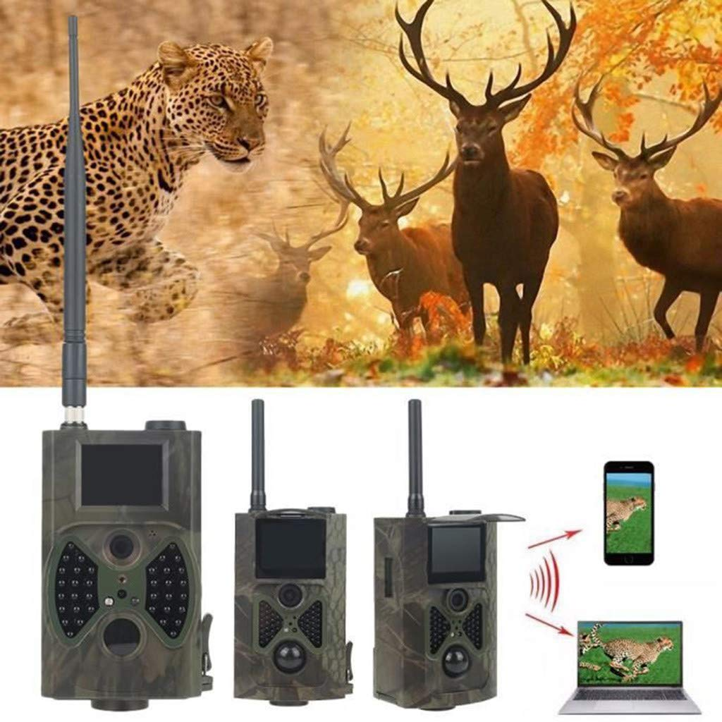 Dowager Trail Camera 12MP 1080P HC-300M Hunting Camera with IR Night Vision Waterproof for Wildlife Animal Scouting Digital Surveillance