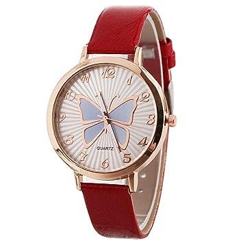 Amazon.com: Reloj de pulsera para mujer con diseño de ...