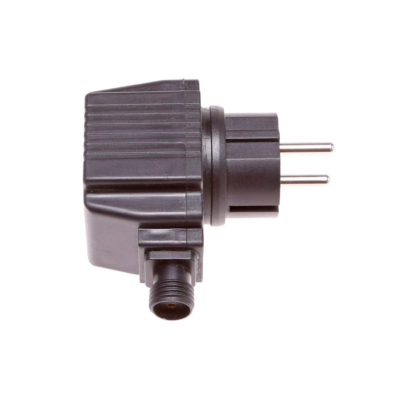 CLGarden Transformador 12 V AC 800mA 9, 6 VA 9, 6 W para fuentes Bomba Fuente Red Conector Transformador 12V