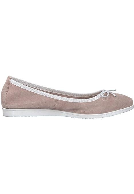 Tamaris 1 22124 20 548 Damen Light Rose Rosa Ballerina mit