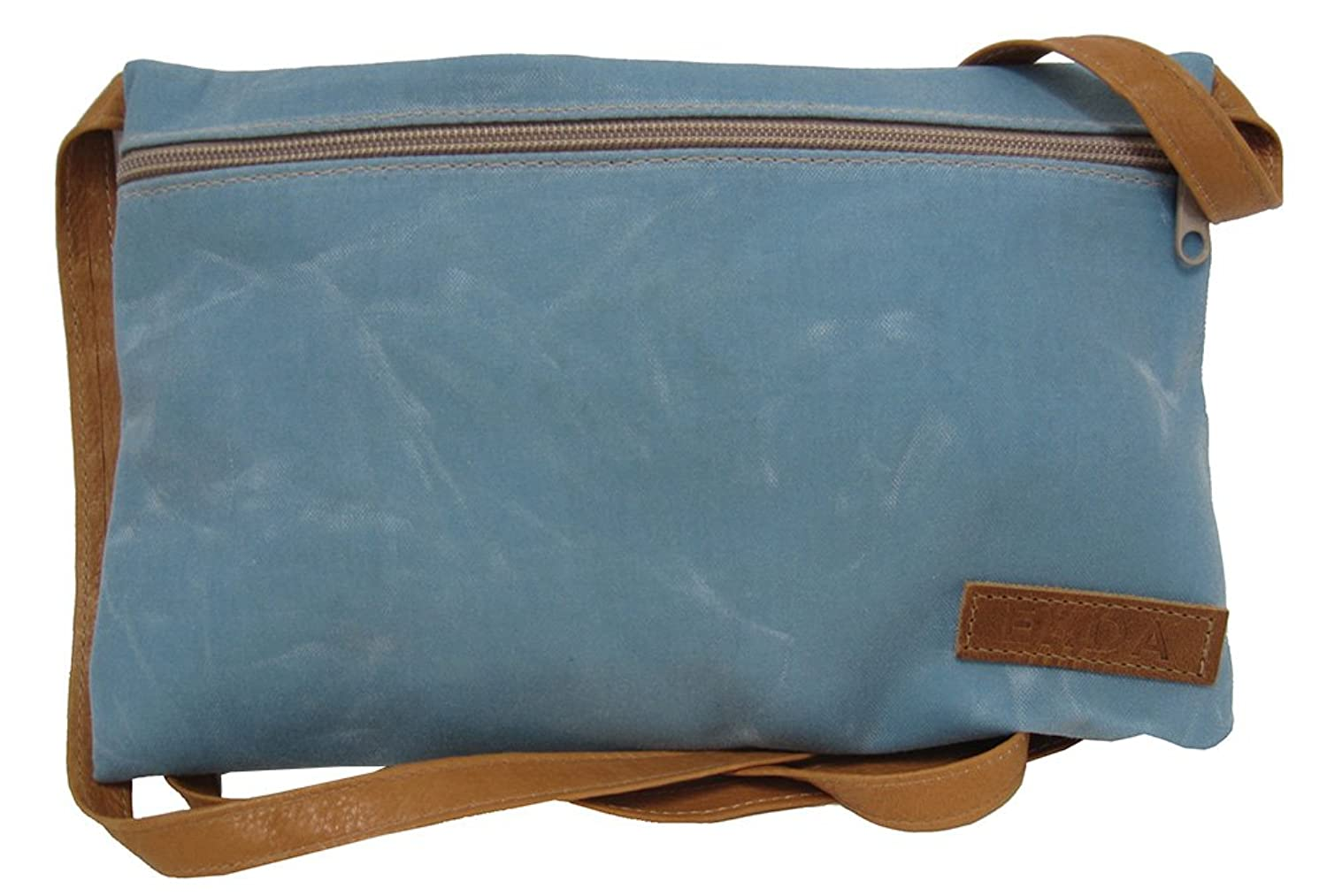 """Belmont"" Cross Body Handbag in Waxed Canvas - Made in Maine"