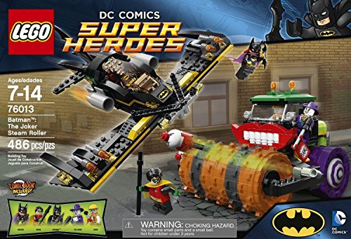 Lego 76013 DC Universe Batman The Joker Steam Roller Building Set w 5 Minifigures