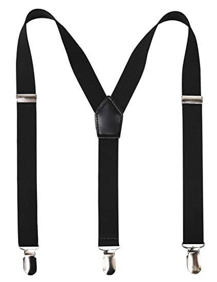 Tuxedo Narrow Suspenders in Y-back with Clips 229529d1c