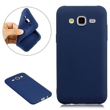 Funda Samsung Galaxy J5 (2015) Carcasa Color Caramelo Puro ...